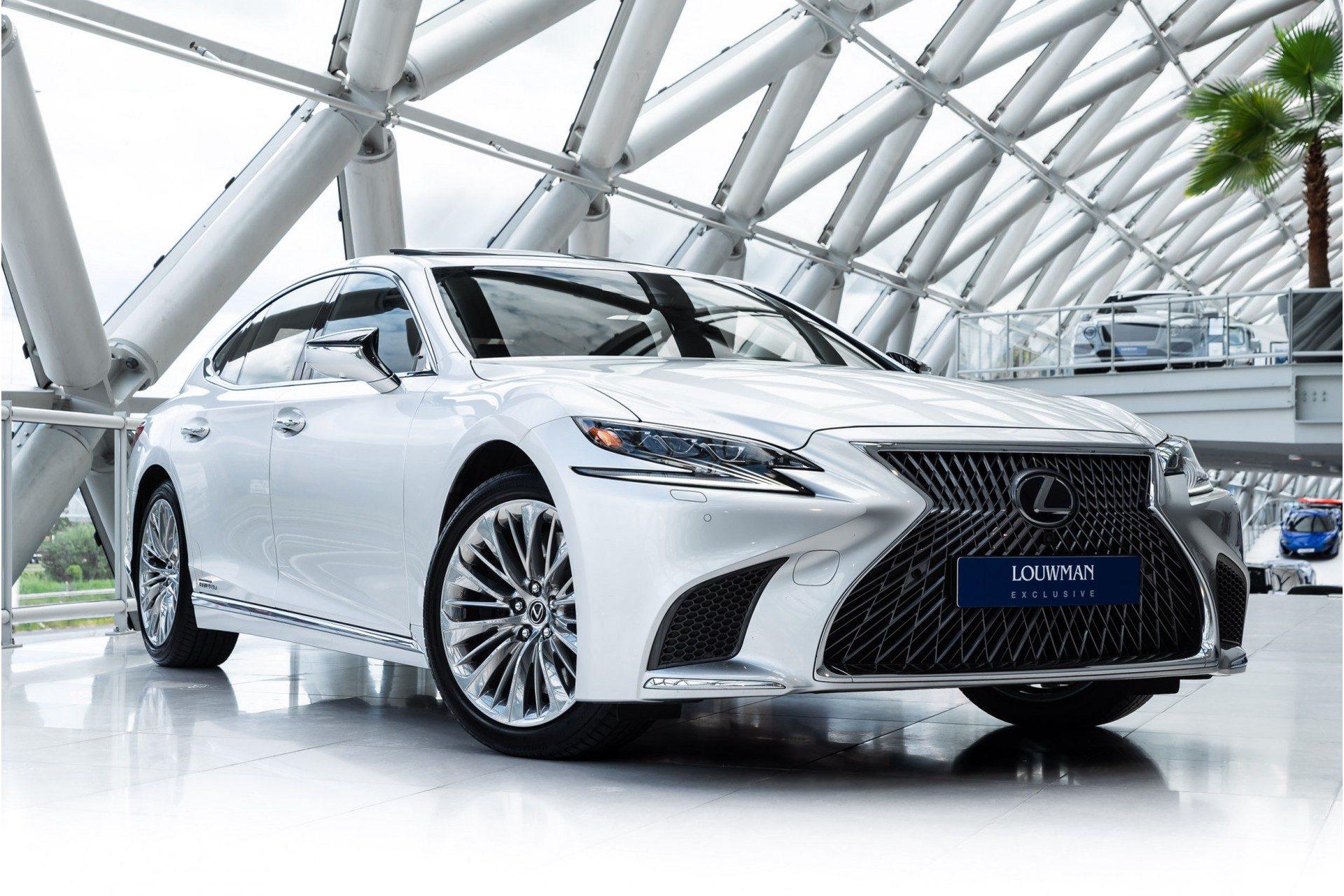 Lexus LS 500h AWD President Line | Massagestoelen voor & achter | Mark Levinson 23 speakers