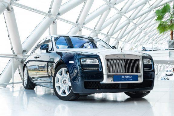 Rolls-Royce Ghost 6.6 V12 | Silver bonnet | Pano | Rear Comf.