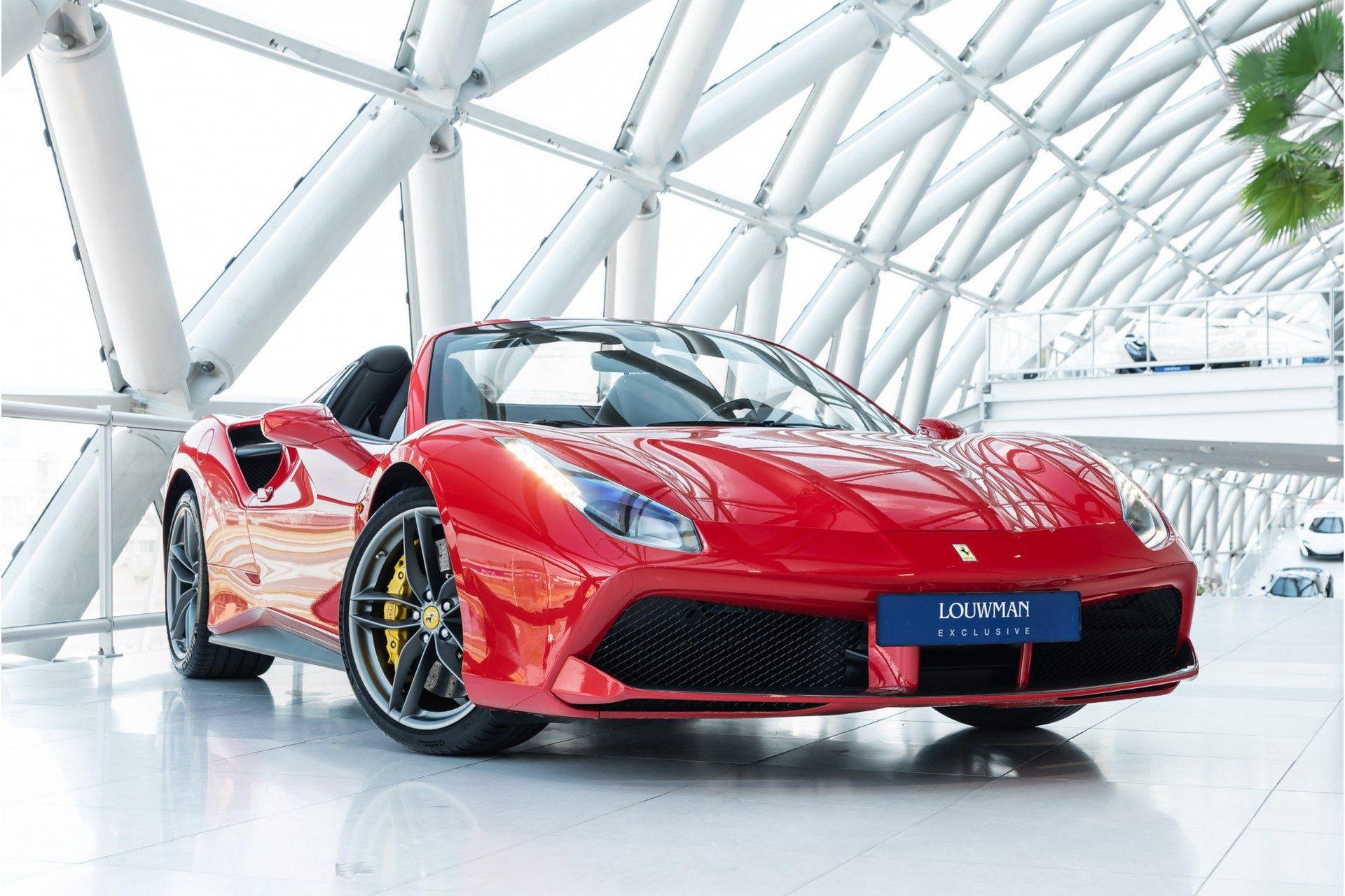 Ferrari 488 3.9 Spider HELE   Carbon Ext.   Daytona   LED Steering  