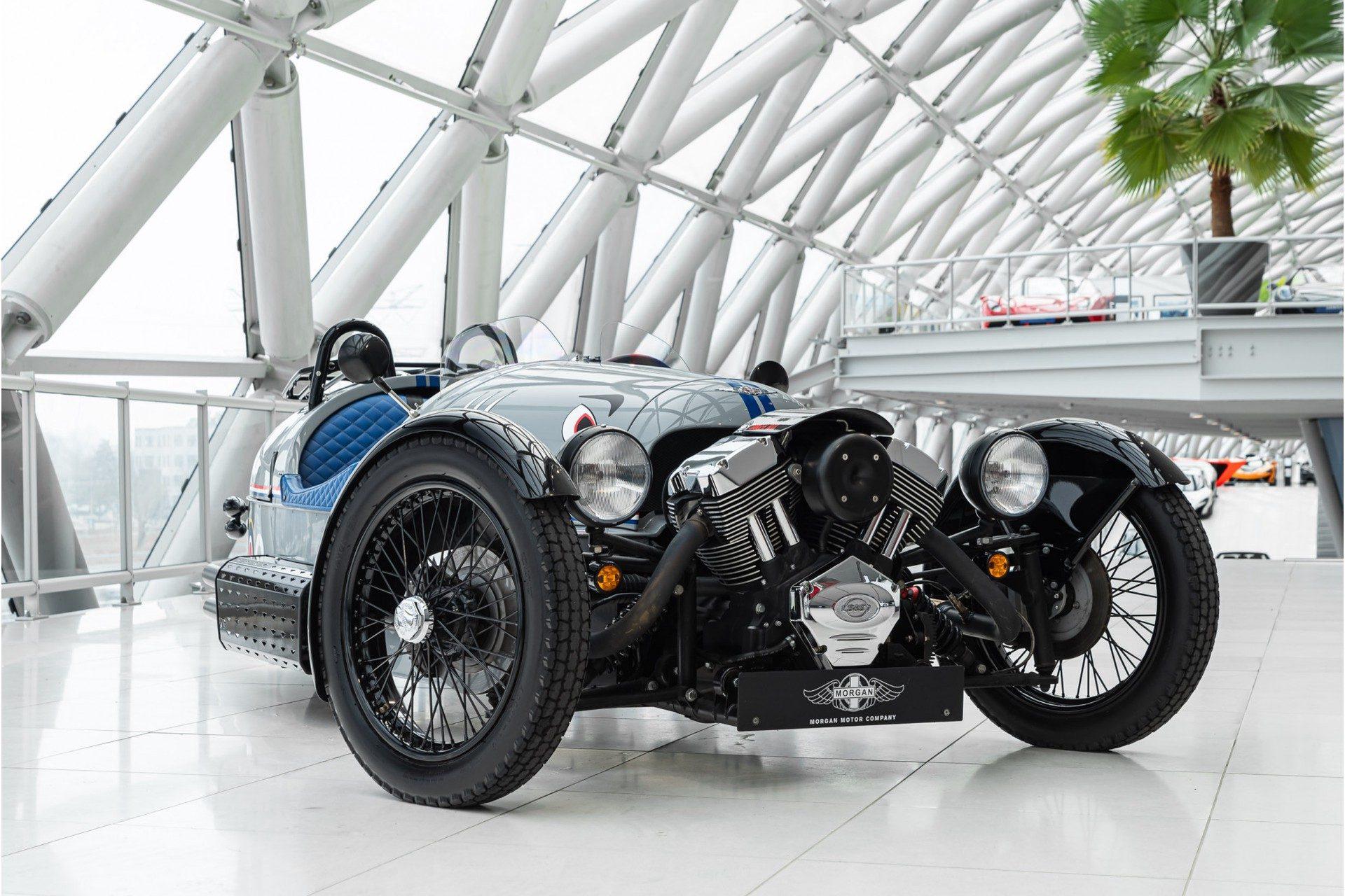 Morgan 3Wheeler | Custom Exhaust | Graphics |
